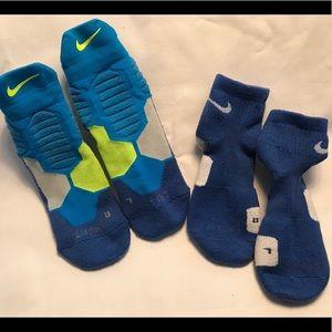 Other - Nike's Elite Ankle Socks -Medium 6-8